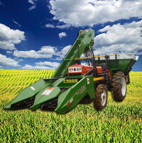 4YW-2型玉米收获机